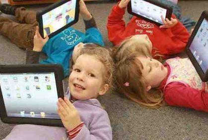Tablets and smart phones..and the mental development of children.