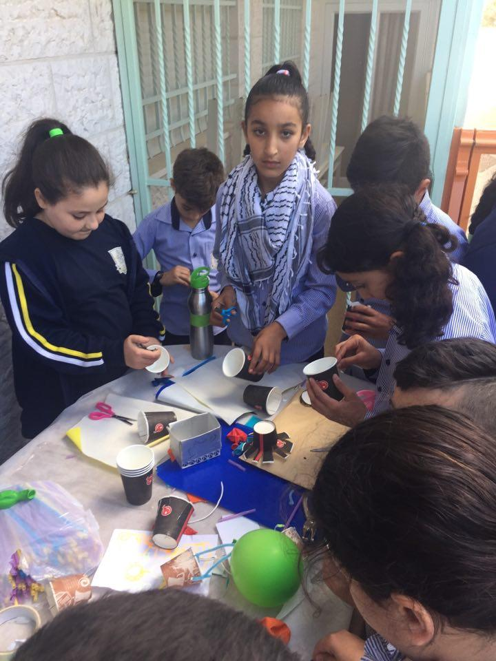 ِAboud: The Science department in LPS in Aboud organizes a Science Festival
