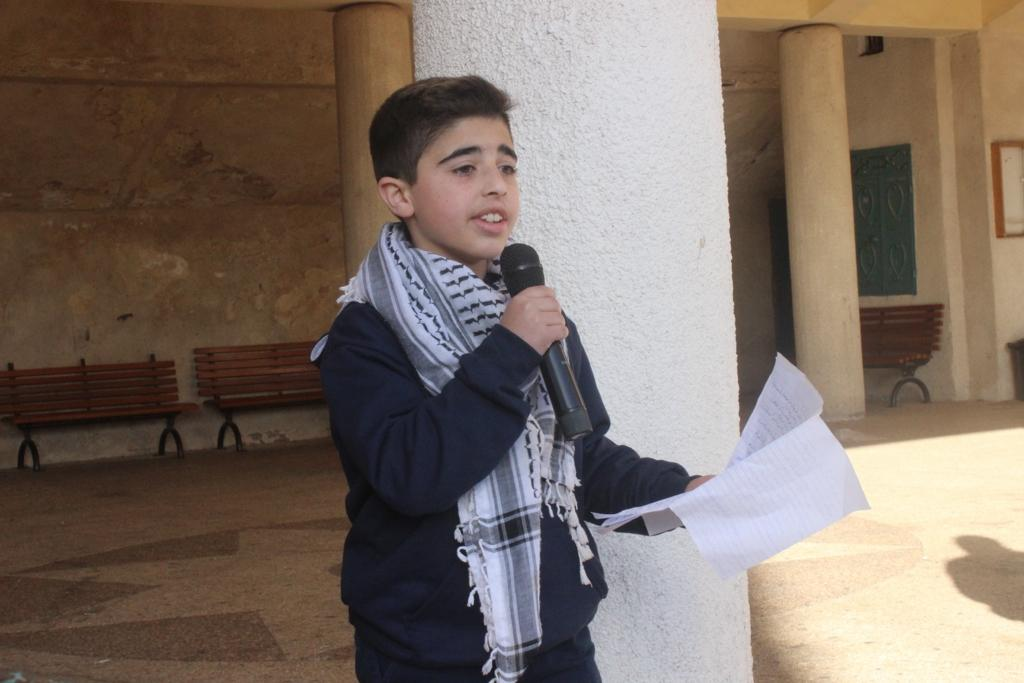 Beit Jala School commemorates the anniversary  of the martyrdom