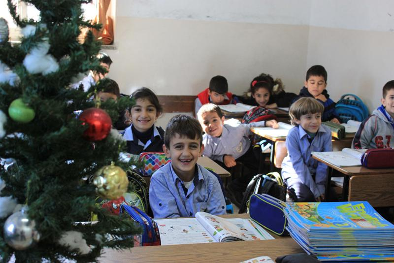 Aboud: the school starts to prepare for Christmas