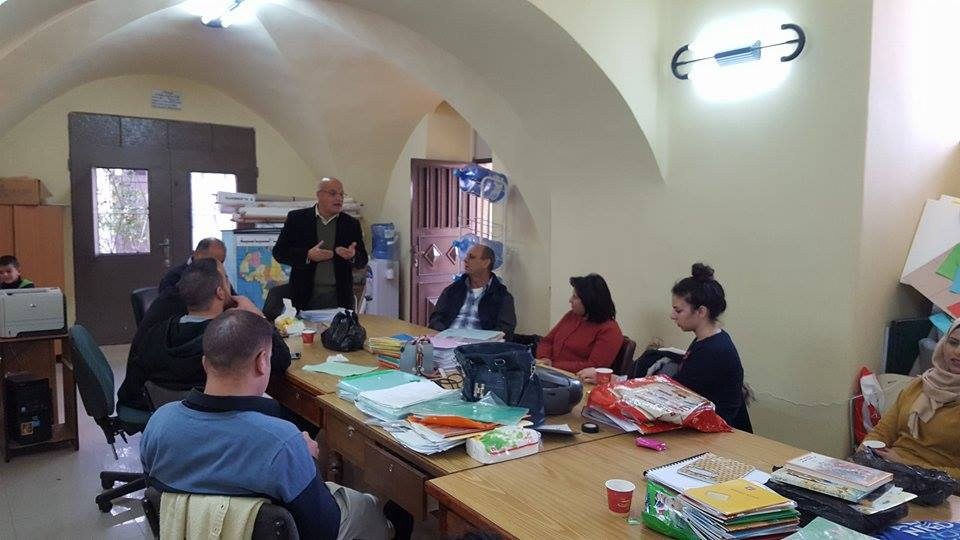 Beit Sahour: Workshop on class management
