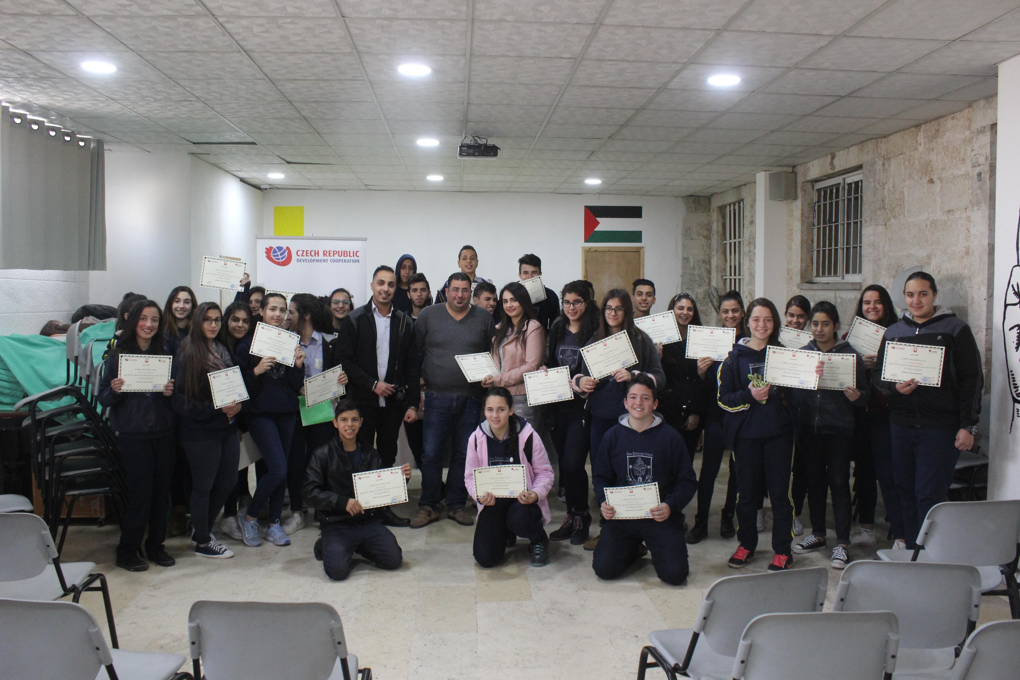 Beit Jala: Life skills workshop in cooperation with Caritas Jerusalem