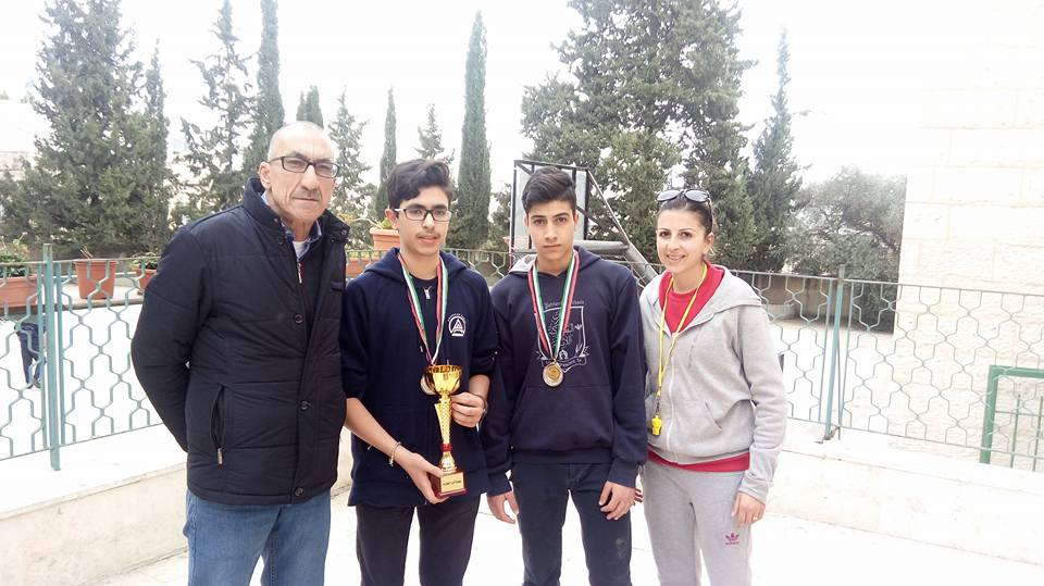 Beit Jala ranked the second place in ping-pong nationally