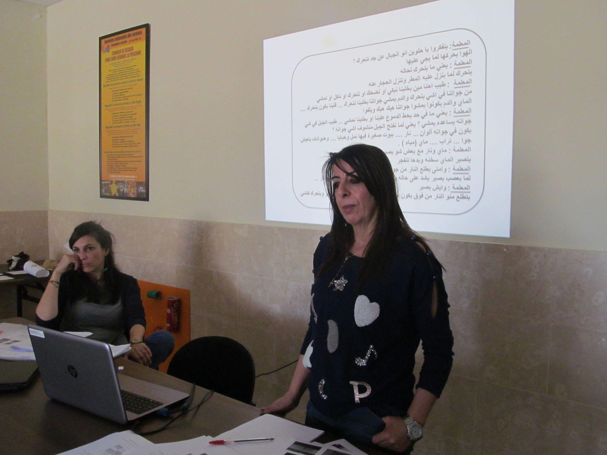 Beit Jala –Reggio Emilia Institution prepares a workshop for Kindergarten teachers