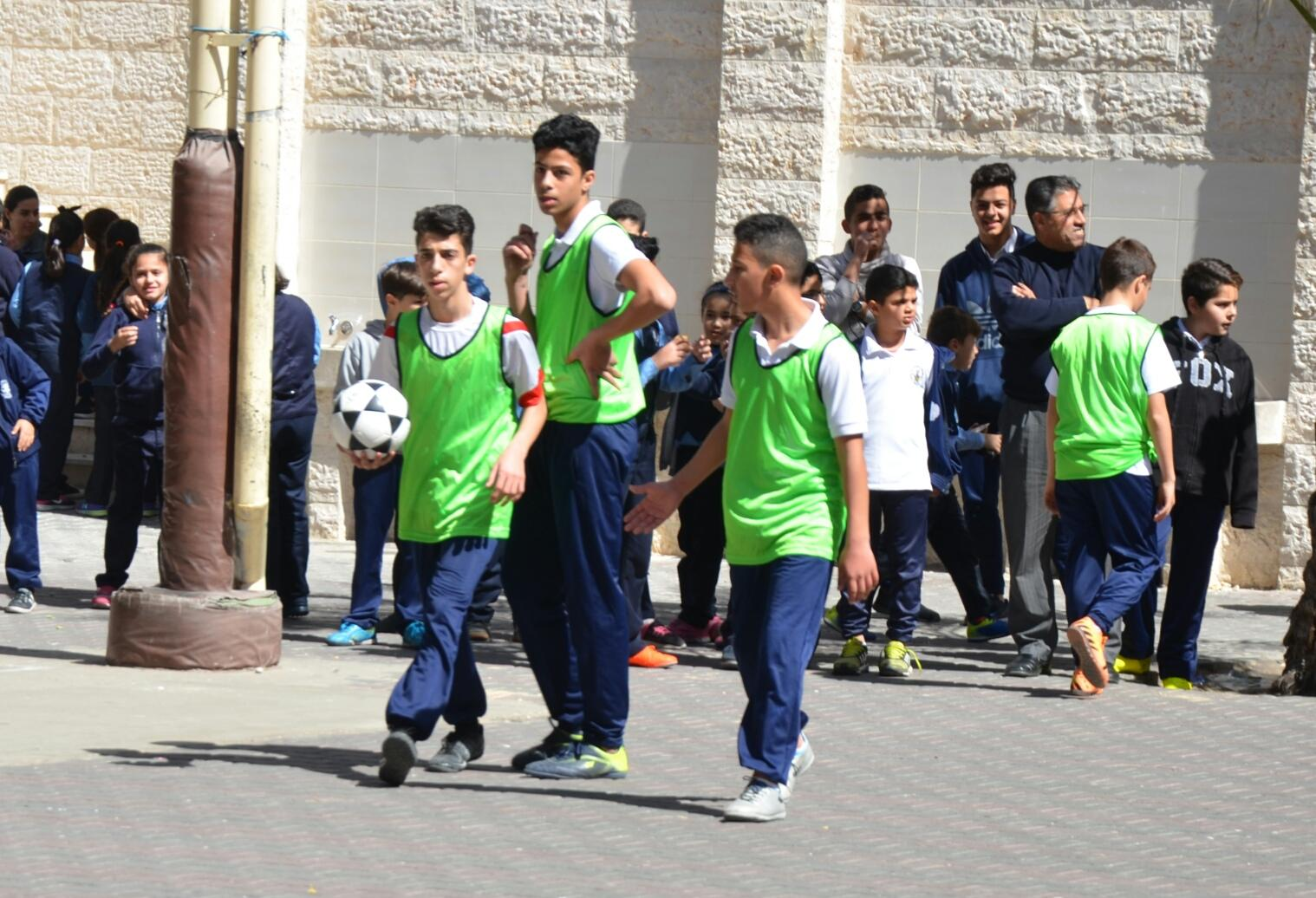 Gaza- Holy Family organizes a Football league