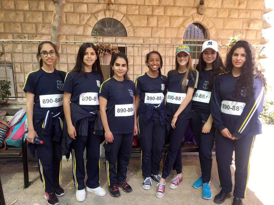 Birzeit: School participates in the Marathon