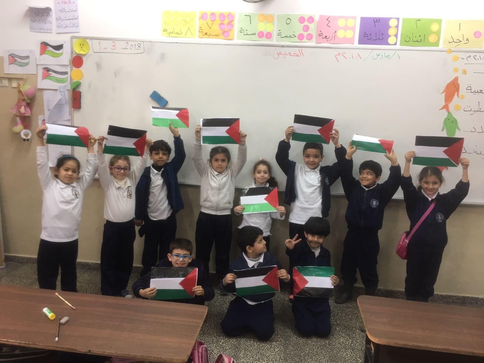 Gaza- Holy Family: Organizing several purposeful activities