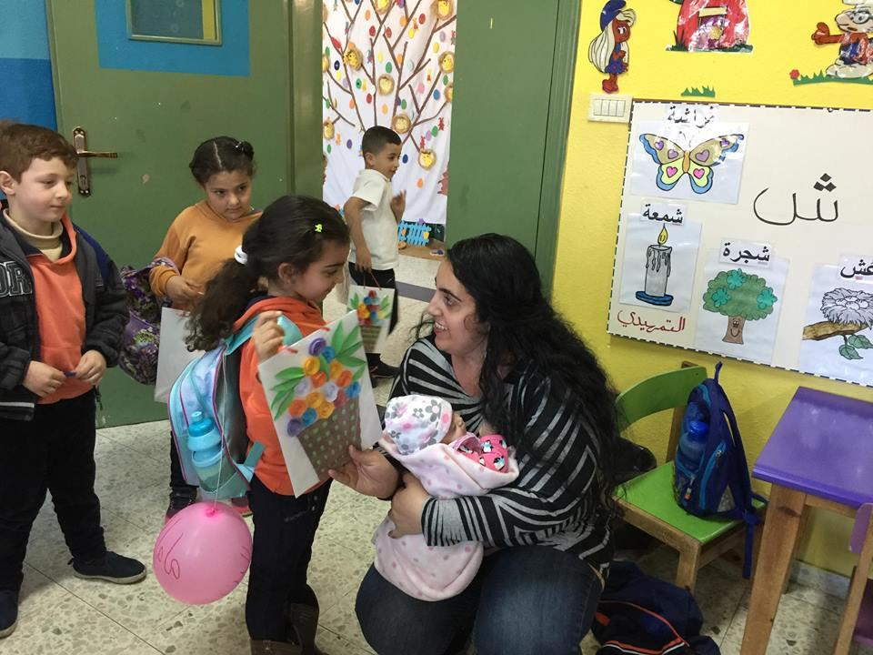 Beit Jala: Celebrating Mothers Day in the Kindergarten