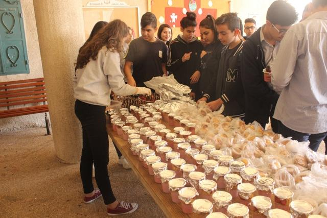 Beit Jala: A healthy day for 10th graders