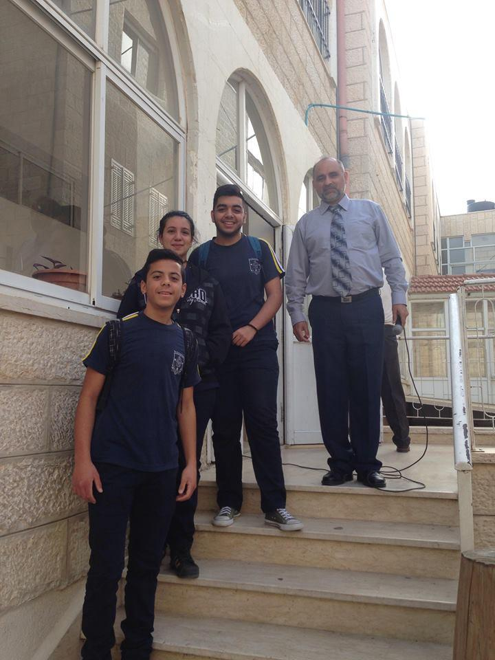 Beit Sahour - Participation in the Mathematics Olympiad Competition