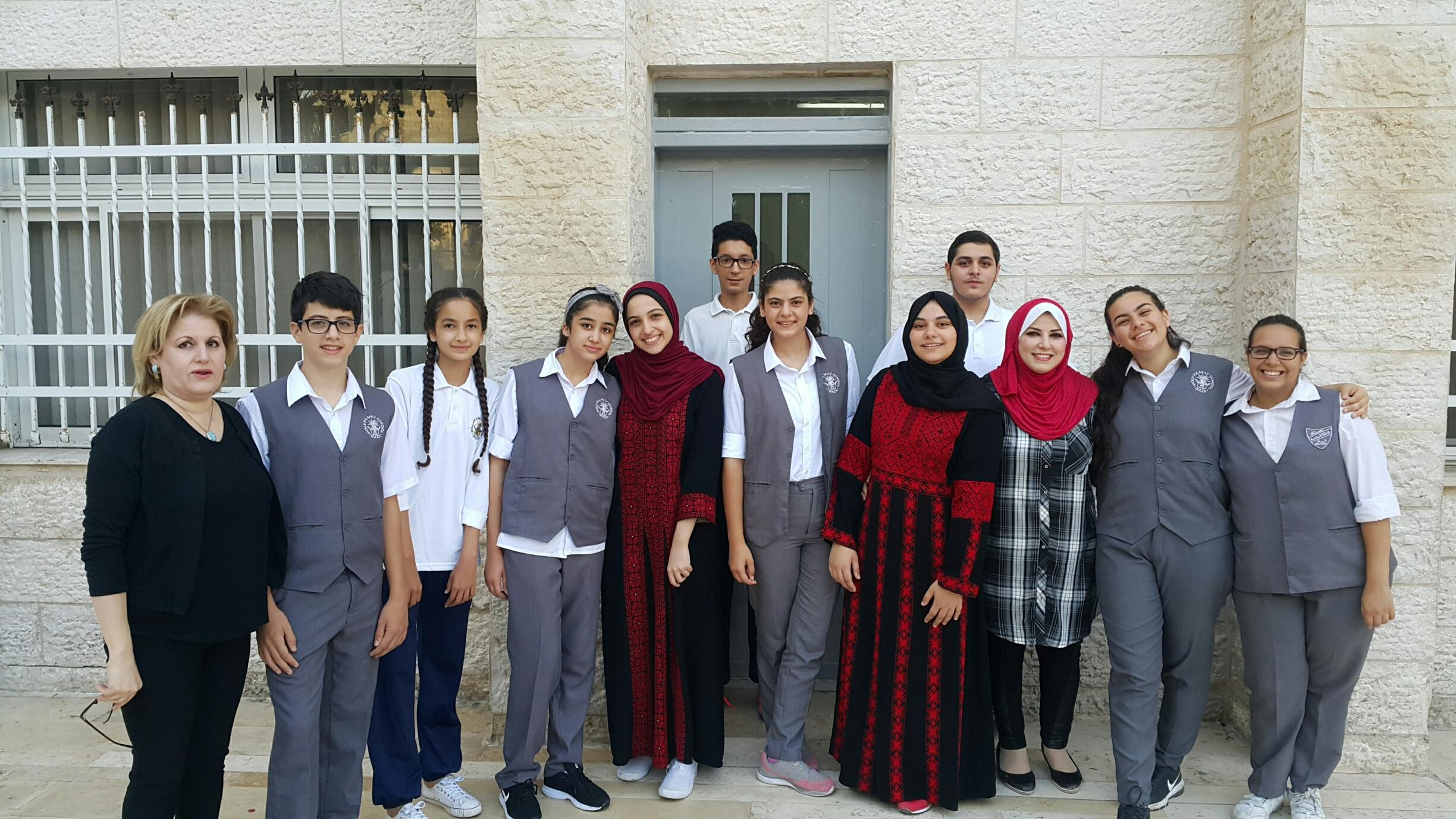 GAZA-Holy Family : 7 students in Abraham Lincoln Incentive Grants and others for the first time
