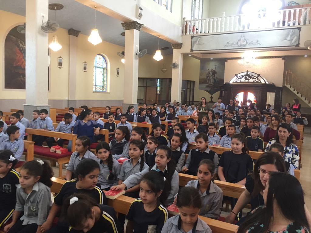 TAYBEH - The opening Mass of the new Academic Year 2018/2019