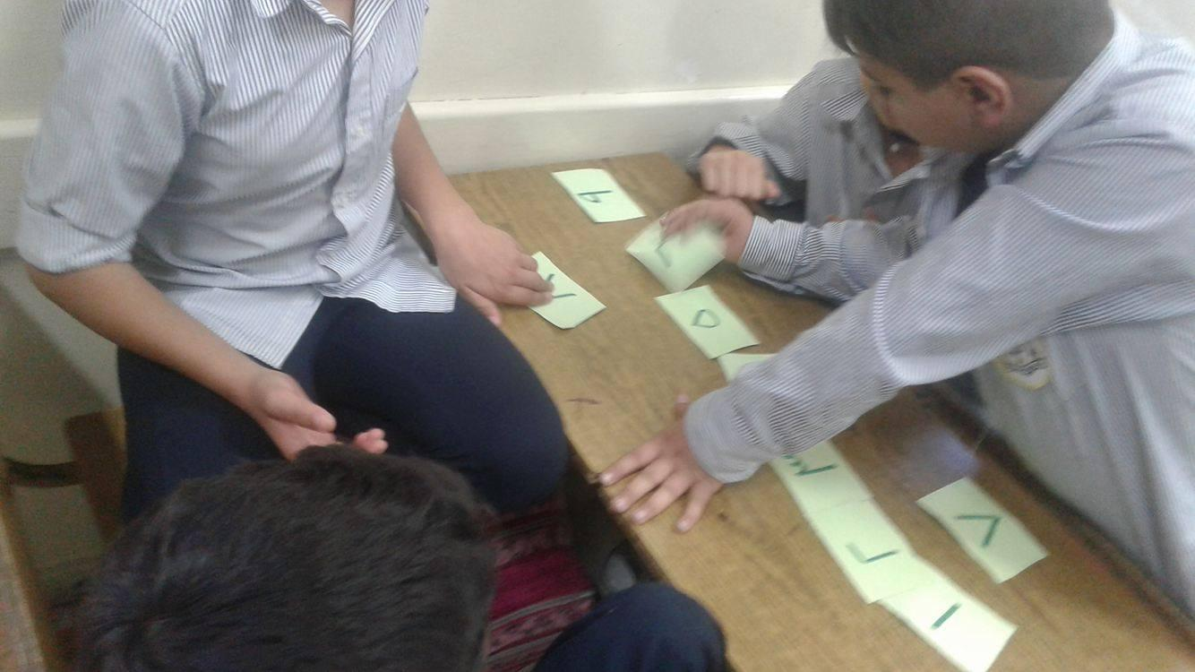 JIFNA: Third Graders learning Maths